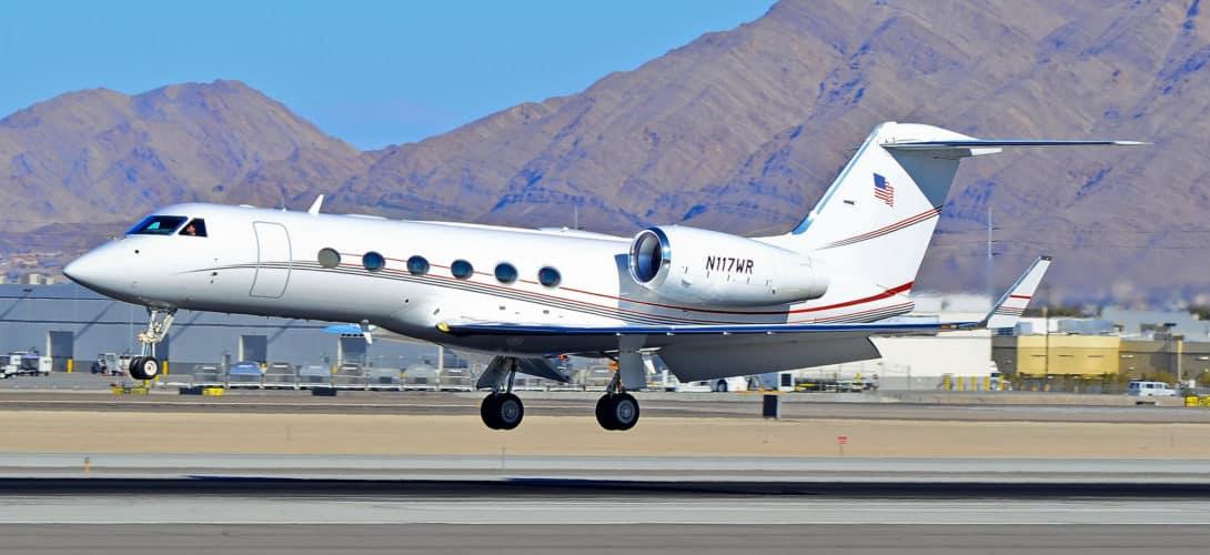 Gulfstream Aerospace G350 N117WR