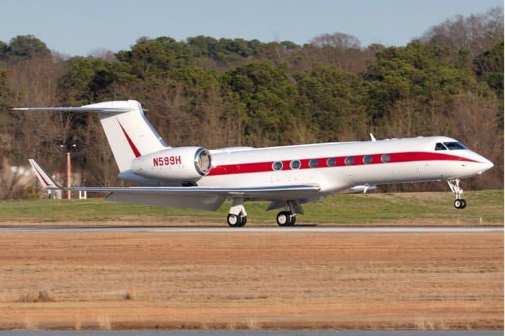 Gulfstream G550 N599H