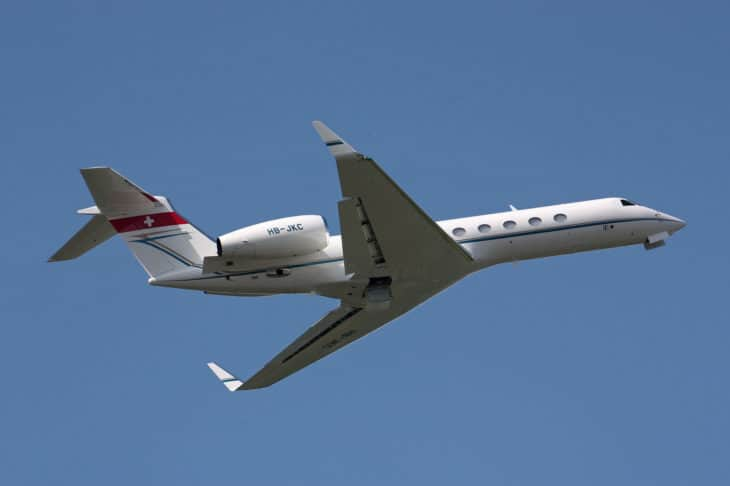 HB JKC Gulfstream 550