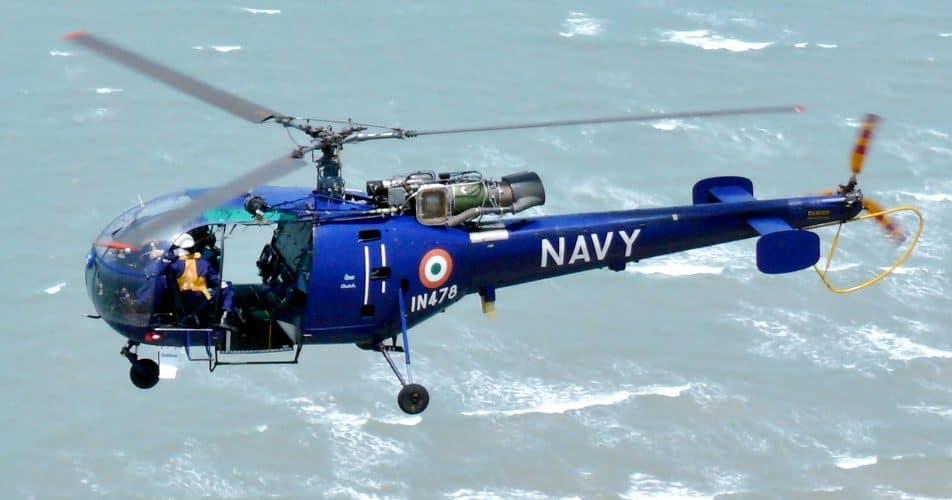 Indian Navy HAL Chetak