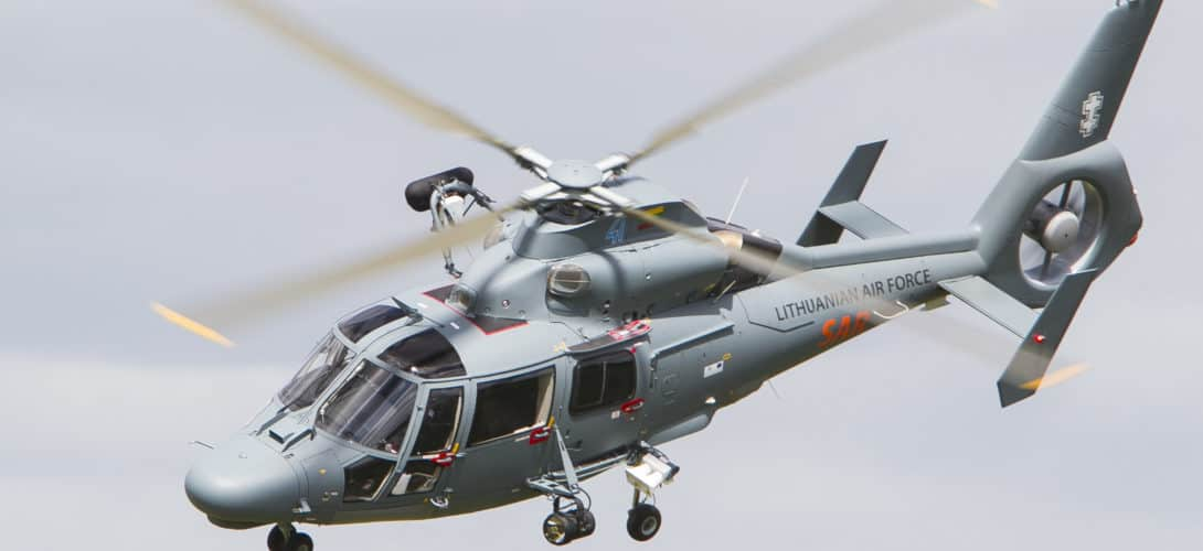 Lithuanian Air Force Eurocopter AS365 Dauphin