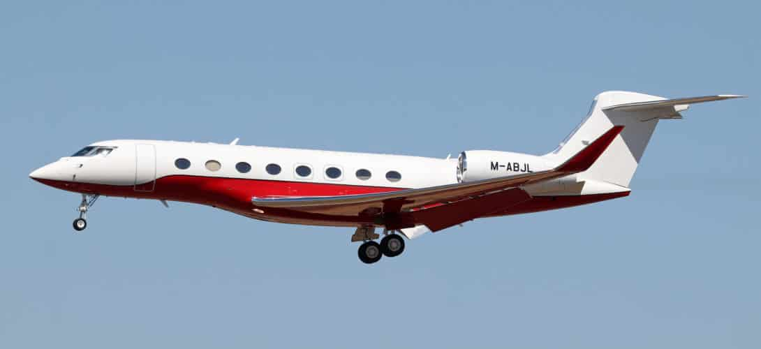 M ABJL Gulfstream G650