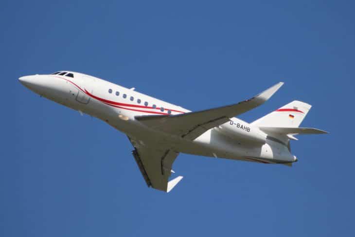 MHS Aviation Dassault Falcon 2000LX D BAHB