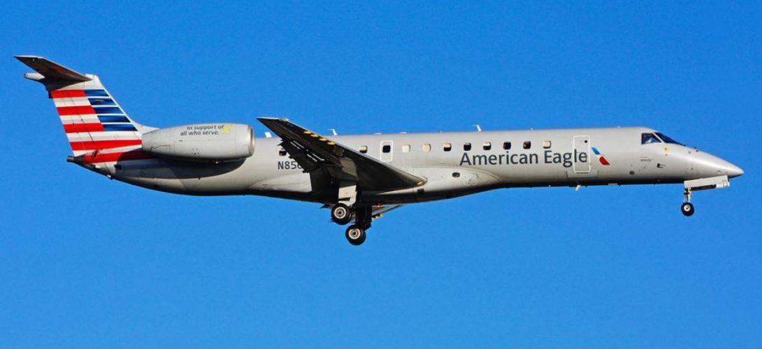 N856AE Embraer ERJ 140LR American Eagle