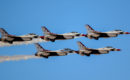Thunderbirds at Nellis AFB Las Vegas
