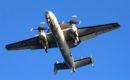 US Navy E 2C Hawkeye underside.