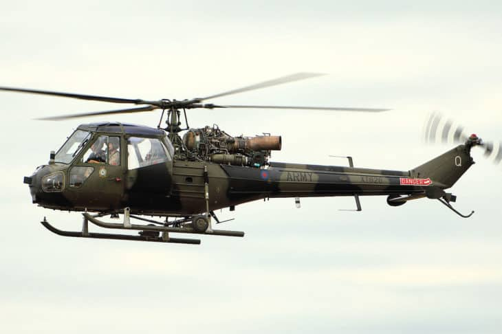 Westland Scout at RIAT 2015
