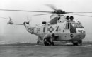 A U.S. Navy Sikorsky SH 3D Sea King of HS 8.