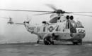 A U.S. Navy Sikorsky SH 3D Sea King of HS 8.