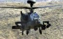 A US Army USA AH 64D Apache Longbow helicopter