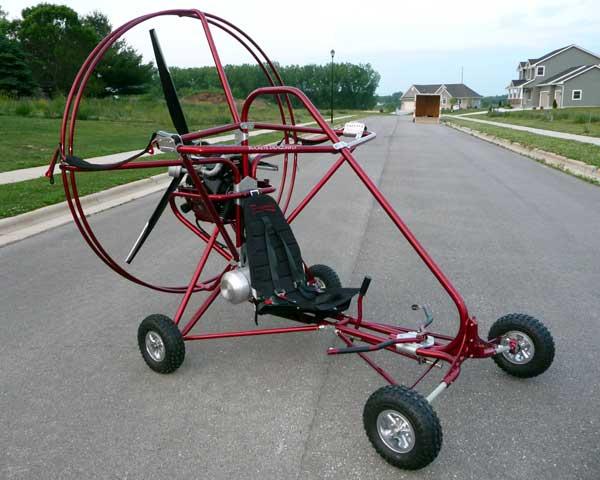 Buckeye Dragonfly Powered Parachute frame