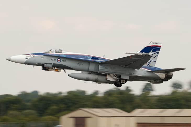 CF 188 Hornet at RIAT 2018