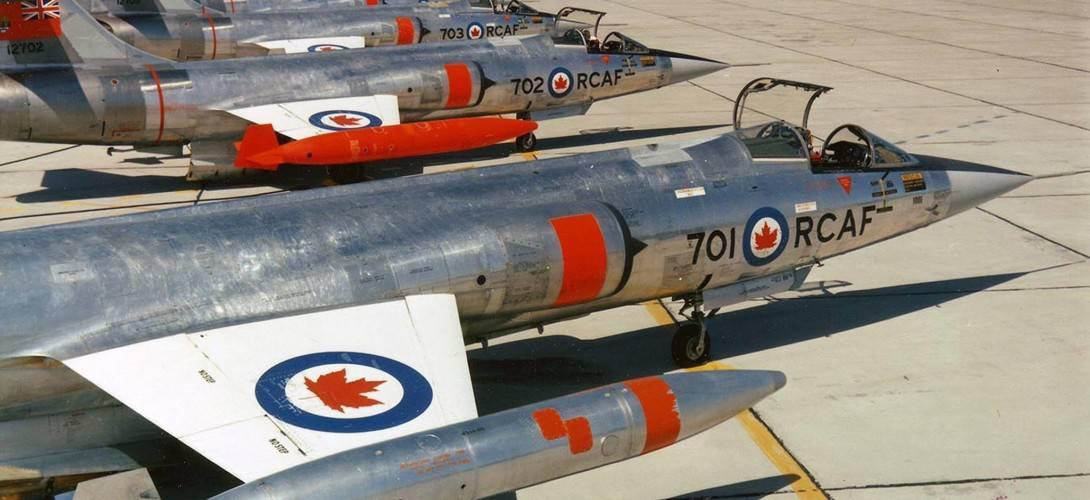 Canadair CF 104 Starfighters