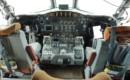Cockpit of NOAA Lockheed WP 3D Orion Hurricane Hunter