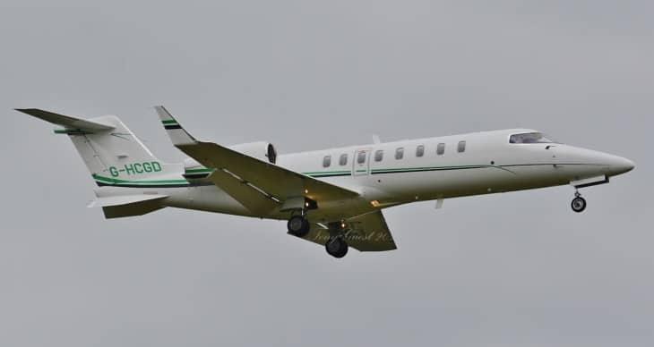 G HCGD. Bombardier Learjet 45XR.