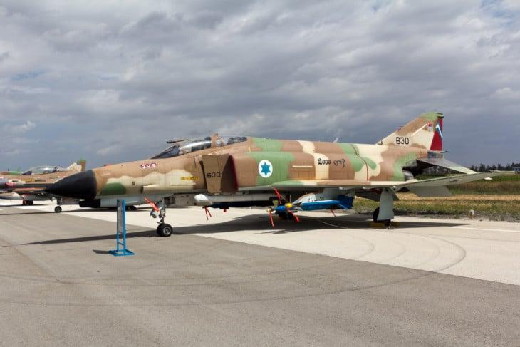 Israeli Air Force 201 Squadron F 4E Phantom II