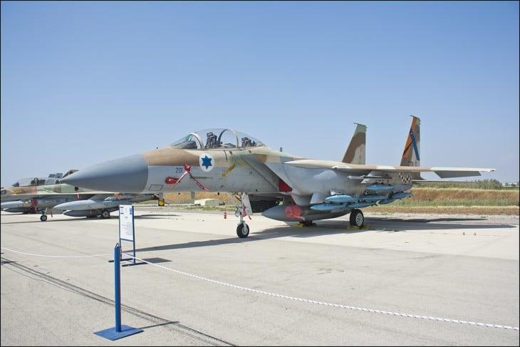 Israeli Air Force F 15I Raam