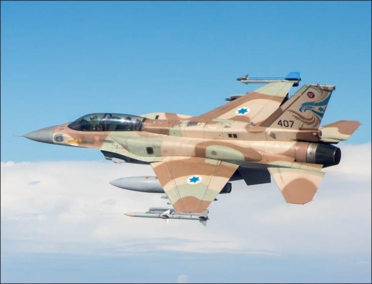 Israeli Air Force F 16I Sufa