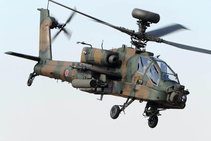Japan Army Boeing AH 64DJP Apache Longbow