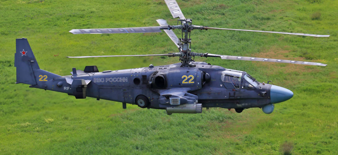 Russian Air Force Kamov Ka 52