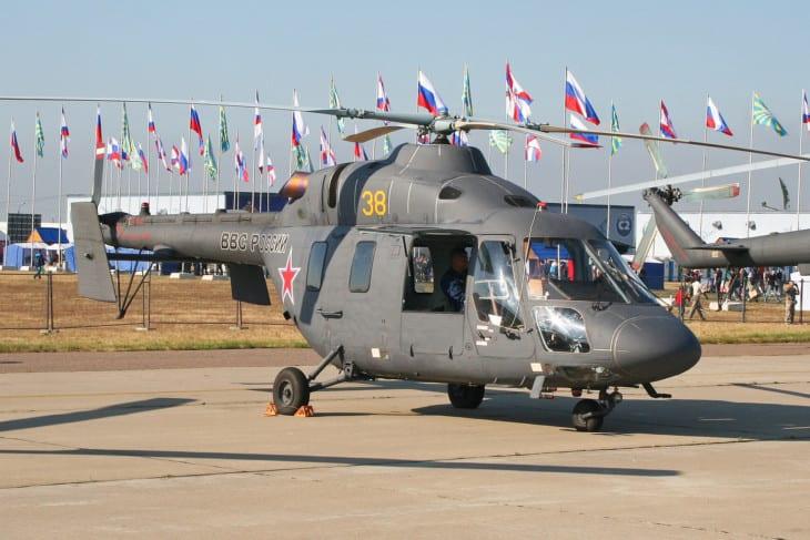 Russian Air Force Kazan Ansat U