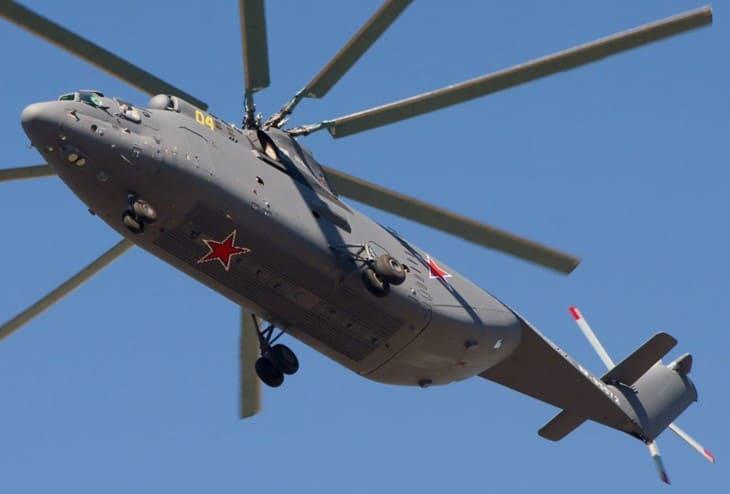 Russian Air Force Mil Mi 26.