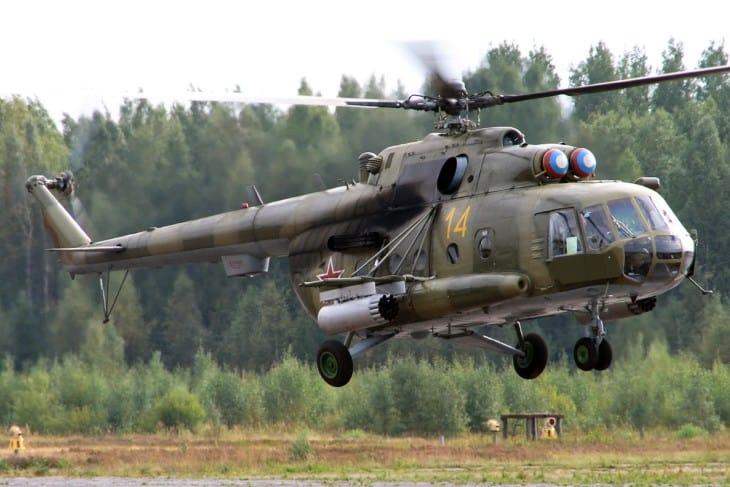 Russian Air Force Mil Mi 8