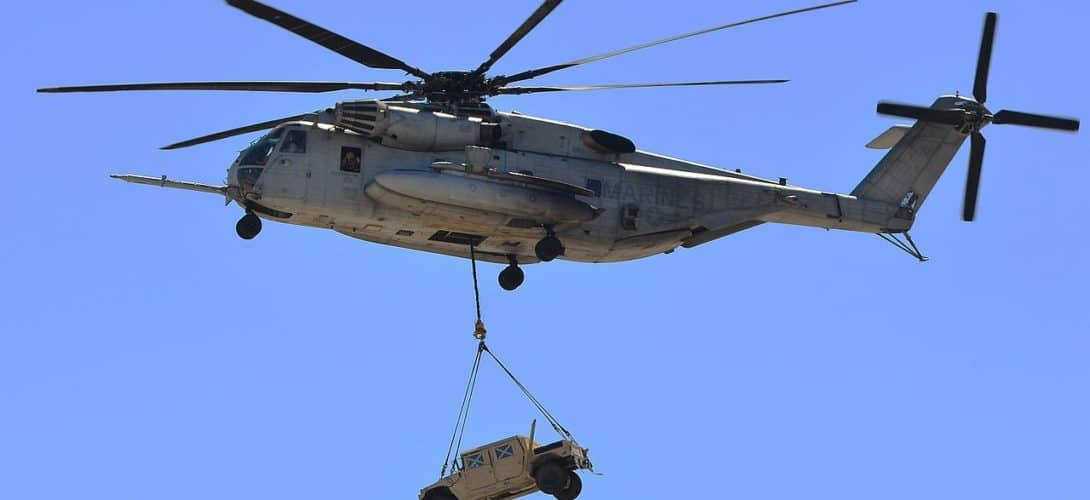 Sikorsky CH 53E Super Stallion of HMH 465.