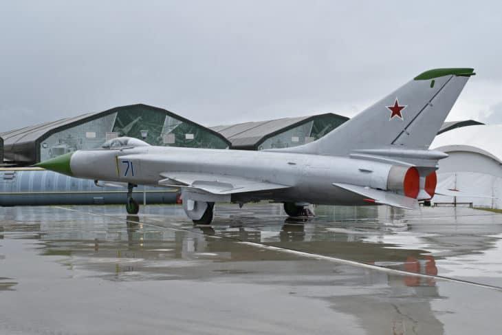 Sukhoi Su 15 rear view