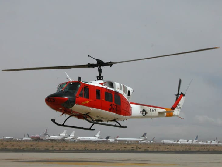 U.S. Navy Search and Rescue Bell HH 1N Twin Huey