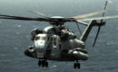 US Navy CH 53E Super Stallion helicopter assigned to HMM 165.