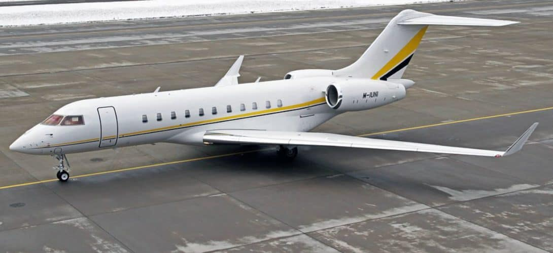 Unitrans Management Bombardier Global 5000 M IUNI