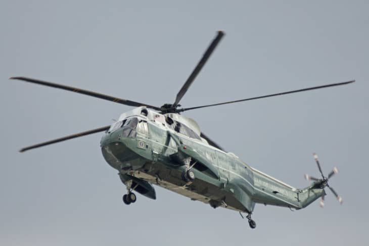 VH 3D Sea King Marine One