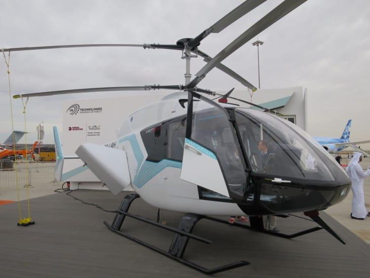 VRT 500 mockup at Dubai Air Show 2019
