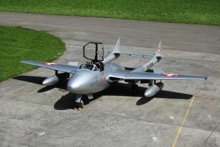 de Havilland DH115 Vampire T.55