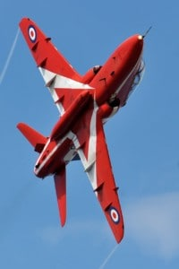 Close Up RAF Red Arrows