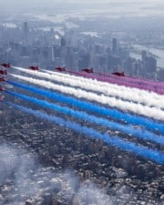 The RAF Red Arrows – The UK's Famous Aerobatics Team