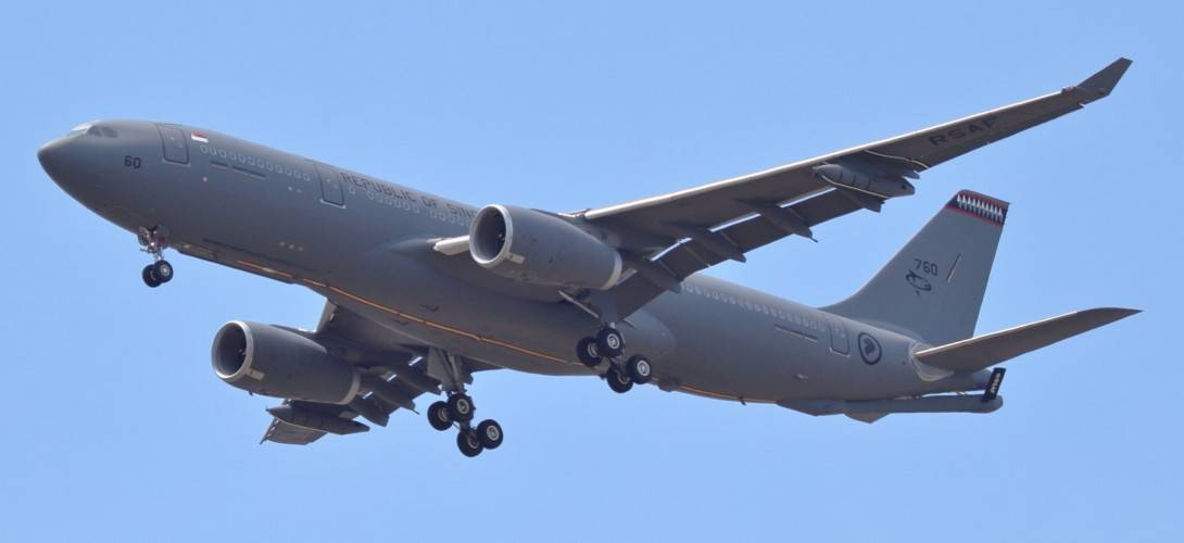 A Republic of Singapore Air Force RSAF Airbus A330 MRTT.