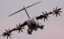 Airbus A400M inflight at the 2013 RIAT