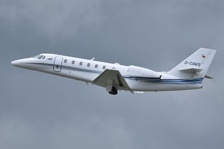 Cessna 680 Citation Sovereign 'D CAWS