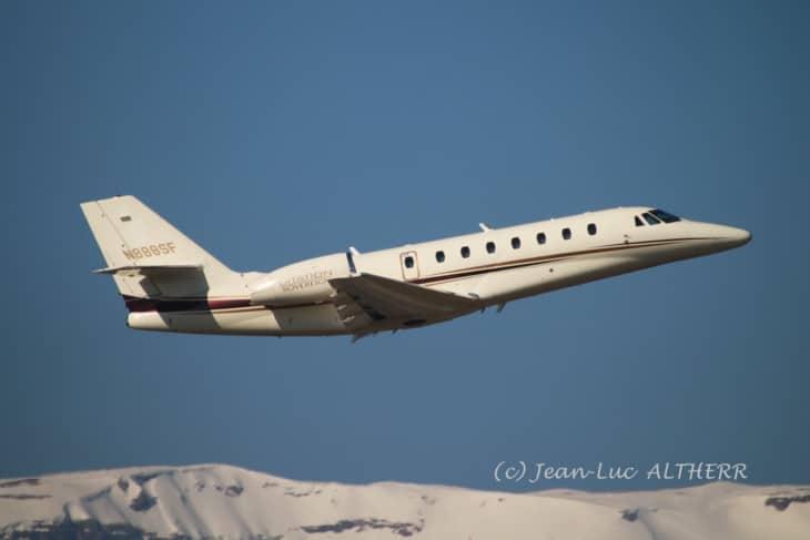 Cessna 680 Citation Sovereign N888SF