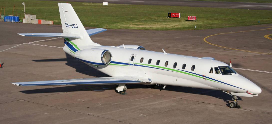 Cessna 680 Citation Sovereign OK UGJ