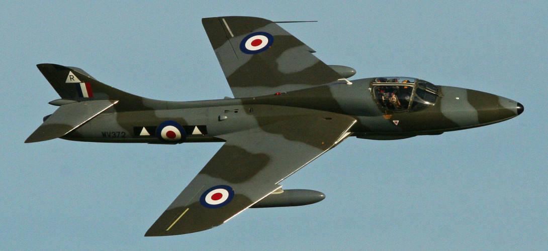 Hawker Hunter T7 WV372
