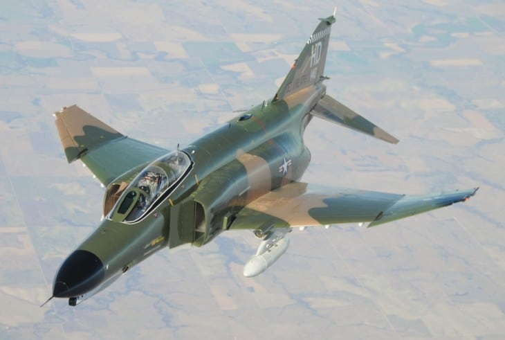 Holloman AFB F 4 Phantom II