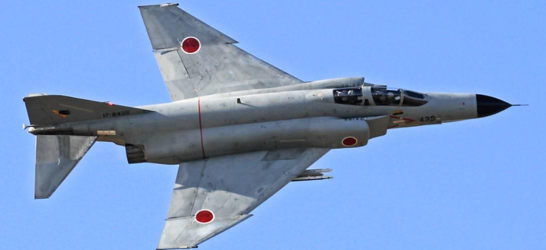 Japan Air Self Defense Force McDonnell Douglas F 4EJ Phantom II. 1