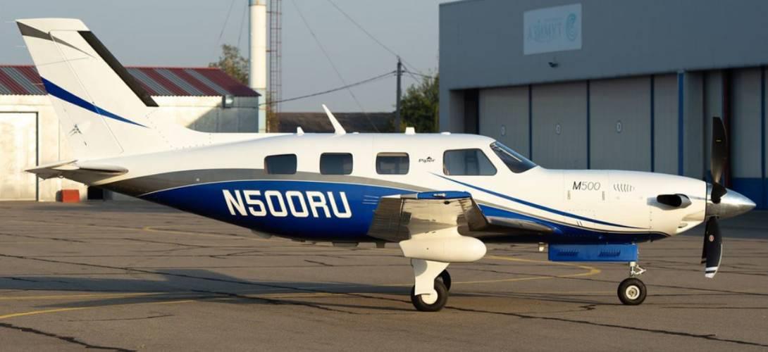 N500RU Piper PA 46 M500 Meridian