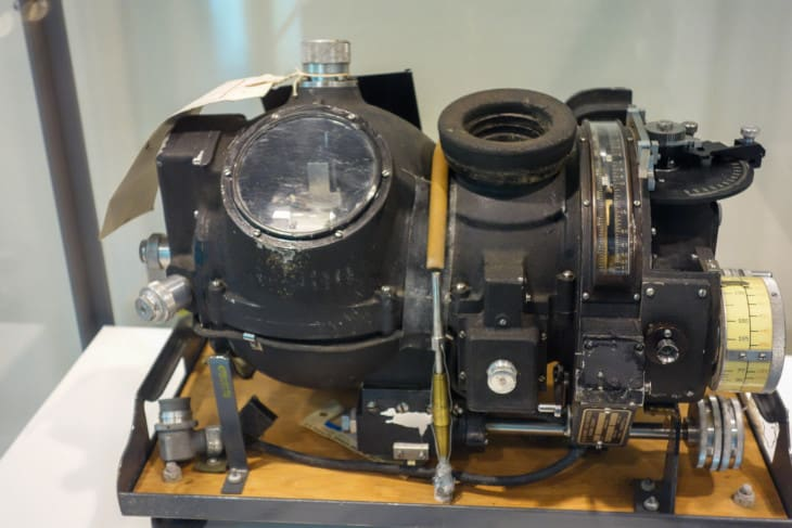 Norden Bombsight in New Orleans WWII Museum