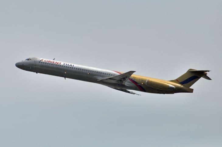 Orient Thai Airlines McDonnell Douglas MD 81 HS MDI
