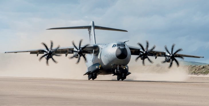 RAF A400M Atlas transport aircraft