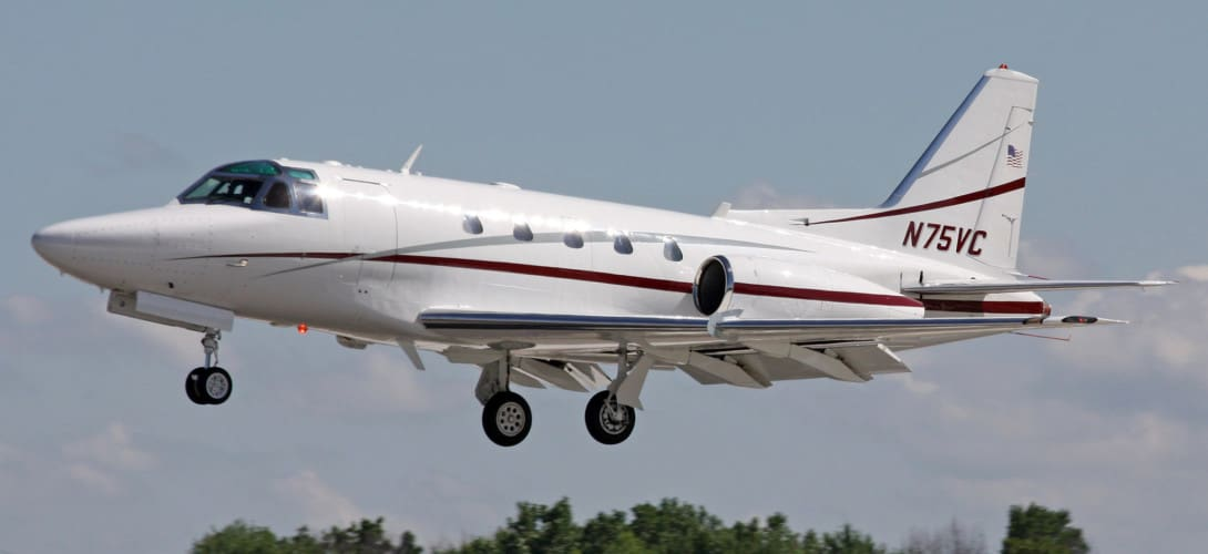 Rockwell NA 265 65 Sabreliner N75VC
